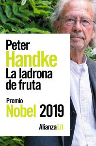 Peter Handke La ladrona de fruta portada