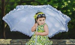 Entrevista a una Pintora Excepcional: Larisa Sarria