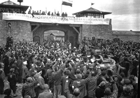 Imagen del campo de concentración de Mauthausen en el momento de su liberación. / USHMM (United States Holocaust Memorial Museum)