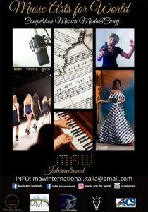 Cartel Artes musicales para el mundo