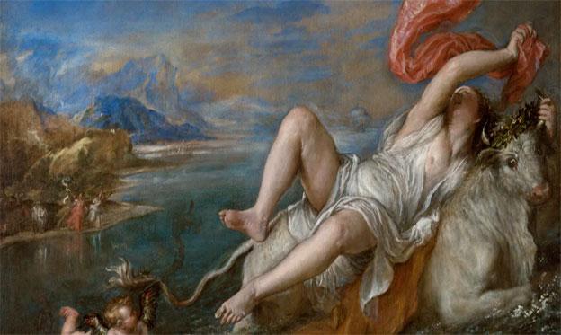 """Las seis """"Poesías"""": Tiziano en la cima de su libertad creativa"""