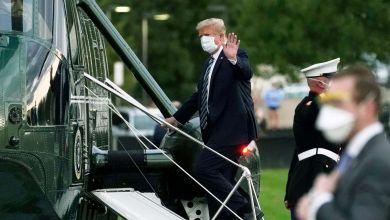 Photo of Presidente trasladado al Hospital Walter Reed por recomendación de su médico; Dió positivo al COVID-19