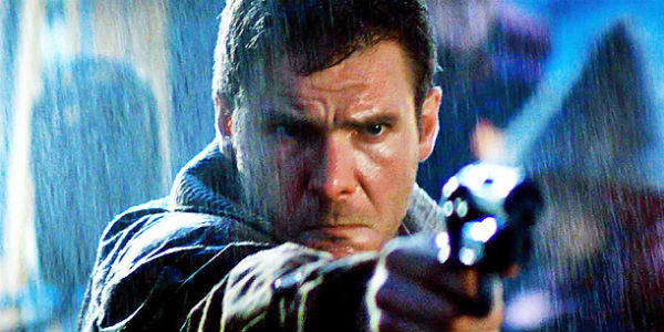 Blade Runner, Harrison Ford sul set