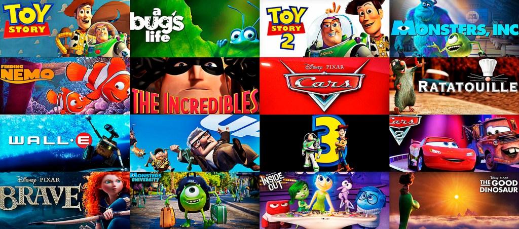 I protagonisti della Pixar sono celebri in tutto il mondo