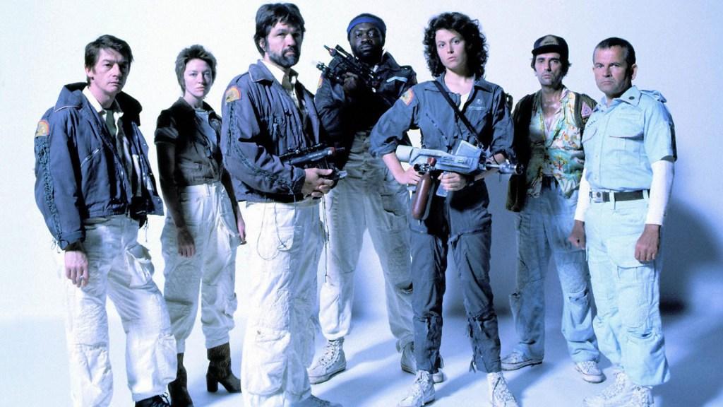 Alien, il cast completo