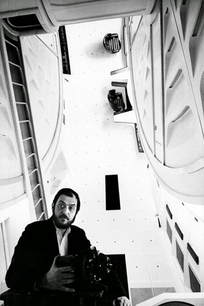 2001 A Space Odyssey, Stanley Kubrick sul set