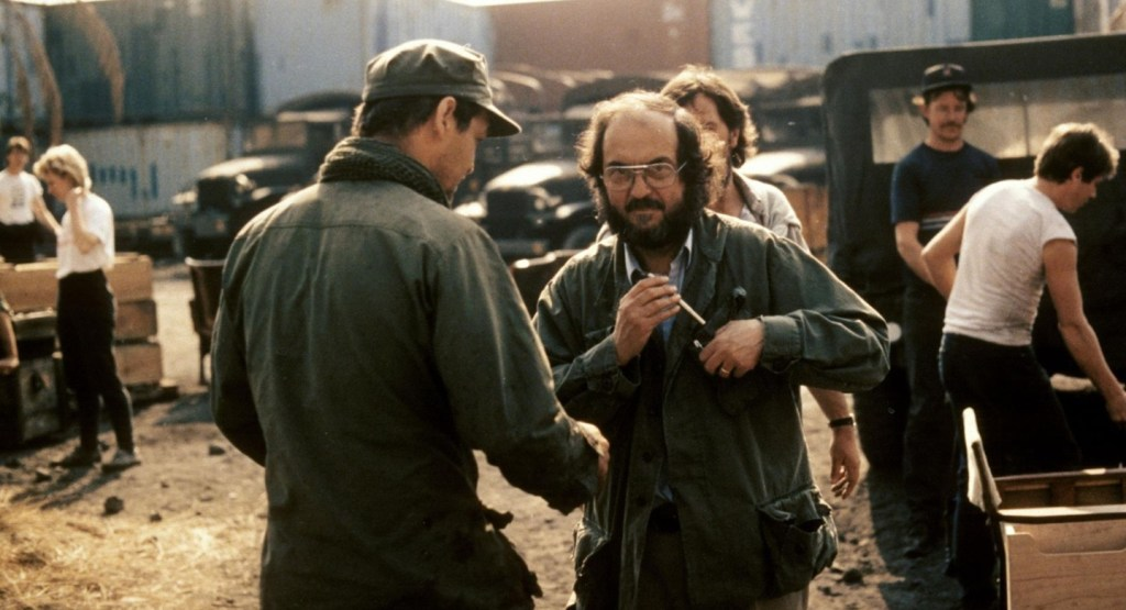Full Metal Jacket, Stanley Kubrick Sul Set