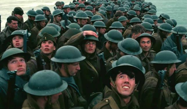 Dunkirk, un'immagine dal film