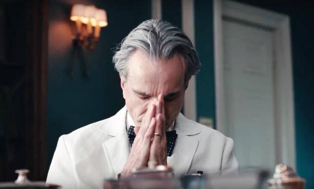 Phantom Thread, Daniel Day Lewis sul set