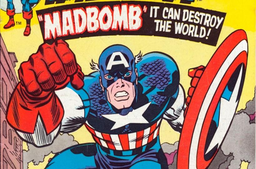 Captain America Madbomb