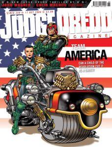 Judge Dredd America III: Il cadetto