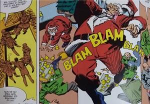 Batman Ricercato:Babbo Natale...Vivo o morto