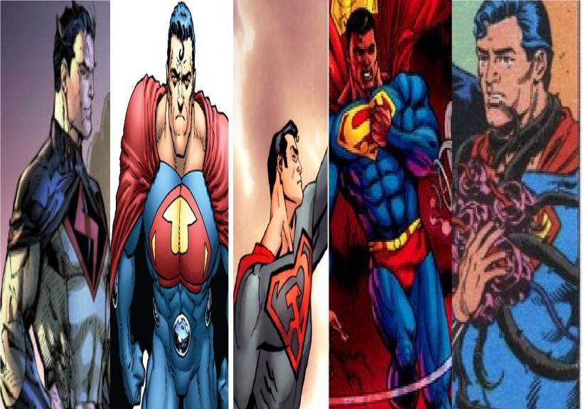 Superman, le cinque versioni alternative