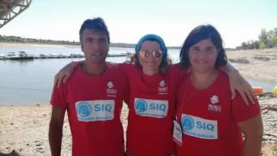Photo of Atletas da Palmela Desporto participaram na III Travessia da Albufeira de Montargil