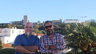 Esq: Yuri Ribeiro (actor) | Dir: Luís Albuquerque (Realizador)