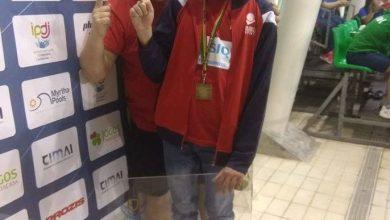Photo of Jovem banheirense é Campeão Nacional de Natação Adaptada da Classe S17