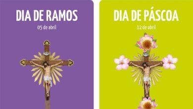 Photo of Páscoa celebrada com 'cruz à porta'