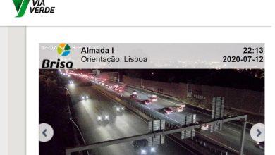 Photo of Trânsito muito congestionado no acesso à capital