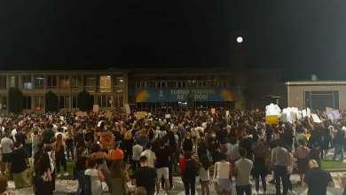 Photo of Vigília de homenagem a animais mortos em Sto Tirso teve centenas de pessoas em frente à Câmara