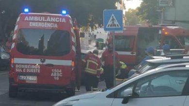 Photo of Seis feridos em atropelamento na Baixa da Banheira