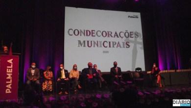 Photo of Palmela condecorou 53 personalidades e entidades em tarde de homenagem