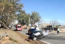 Photo of Carros destruídos e três feridos após acidente no Cercal do Alentejo