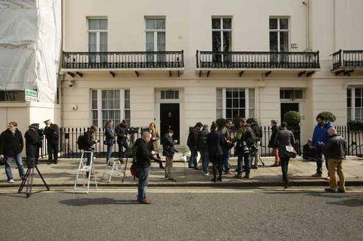 A casa de Thatcher  em Belgravia, área mais nobre de Londres, é avaliada em 13 milhões de dólares