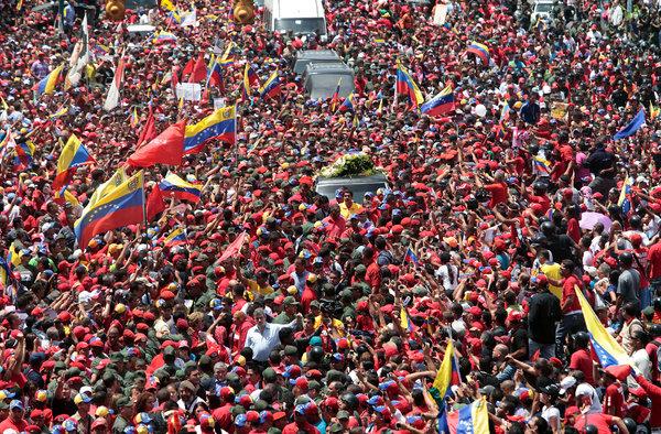 A despedida de Chávez