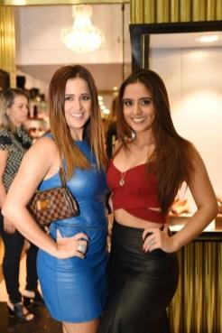 Sapatos 2. Alessandra Câmara e Julia Câmara também estavam no evento