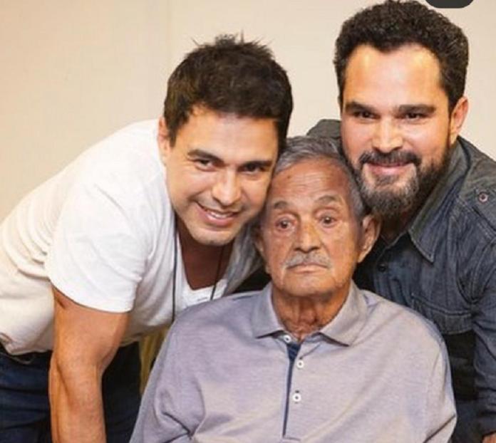 Seu Francisco Camargo, pai de Zezé di Camargo e Luciano, se recupera e  volta a andar - Verso - Diário do Nordeste