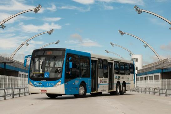 ônibus limpo
