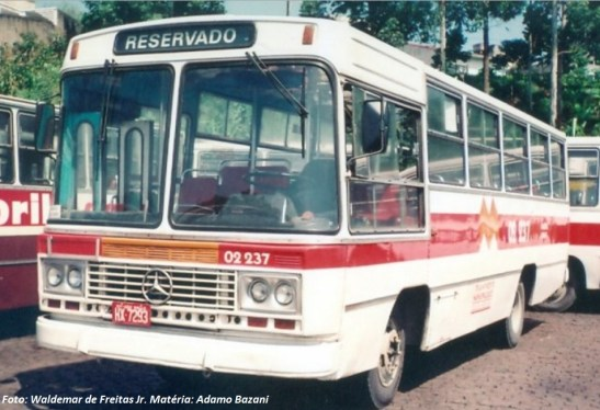 Bem resistente e de uma época onde não se estipulava idade máxima de frota, o Gabriela durava muito, como este modelo do final dos anos de 1970, que ainda circulava na Capital Paulista no início dos anos de 1990.