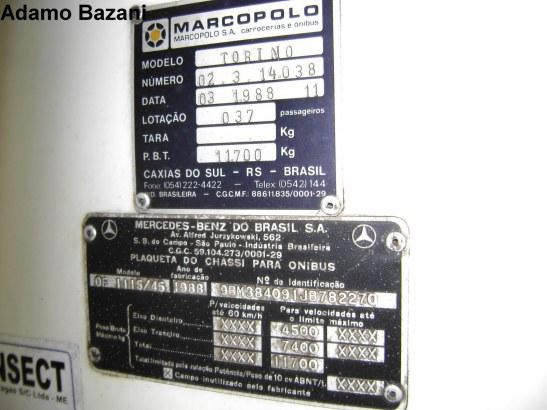 70 i placa identificação
