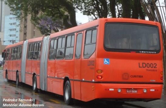 A versão de 1999 do Torino LS marcou os transportes em Curitiba