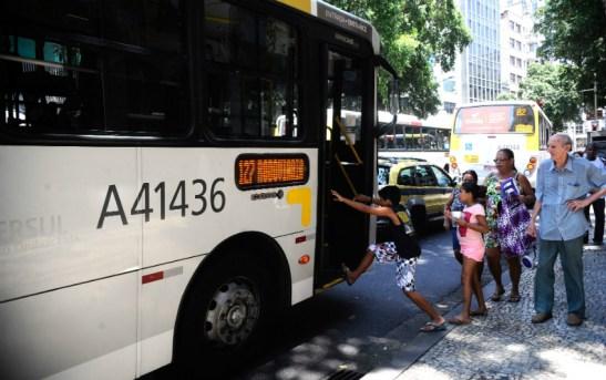 Prefeitura do Rio queria apenas 70% dos ônibus com ar condicionado | Foto: Tomaz Silva Agência Brasil (01/01/2015) - Fotos Públicas