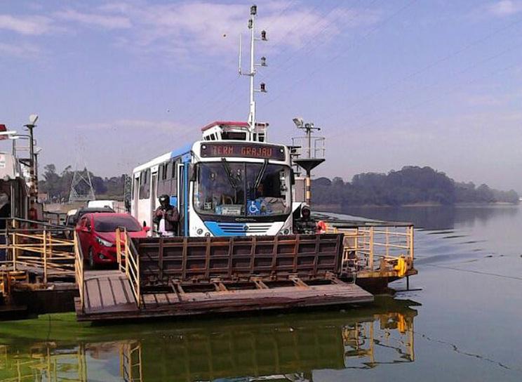 Hoje linhas municipais de São Bernardo do Campo e de São Paulo percorrem o extenso itinerário que era da Viação Taquacetuba