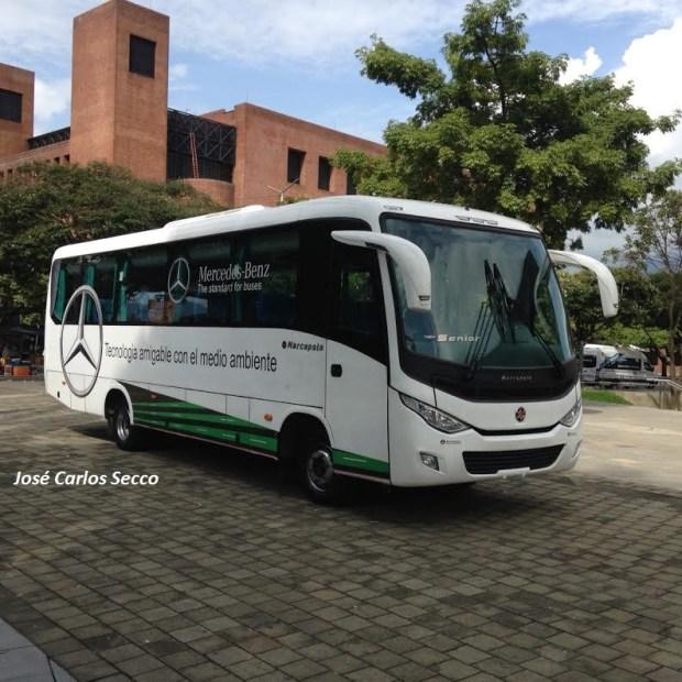 Veículos de menor capacidade, entre minis, micros e médios respondem por 60% do mercado de ônibus na Colômbia