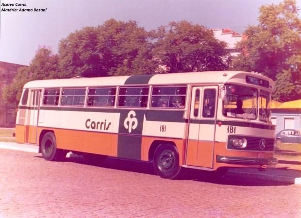 ônibus década 1970