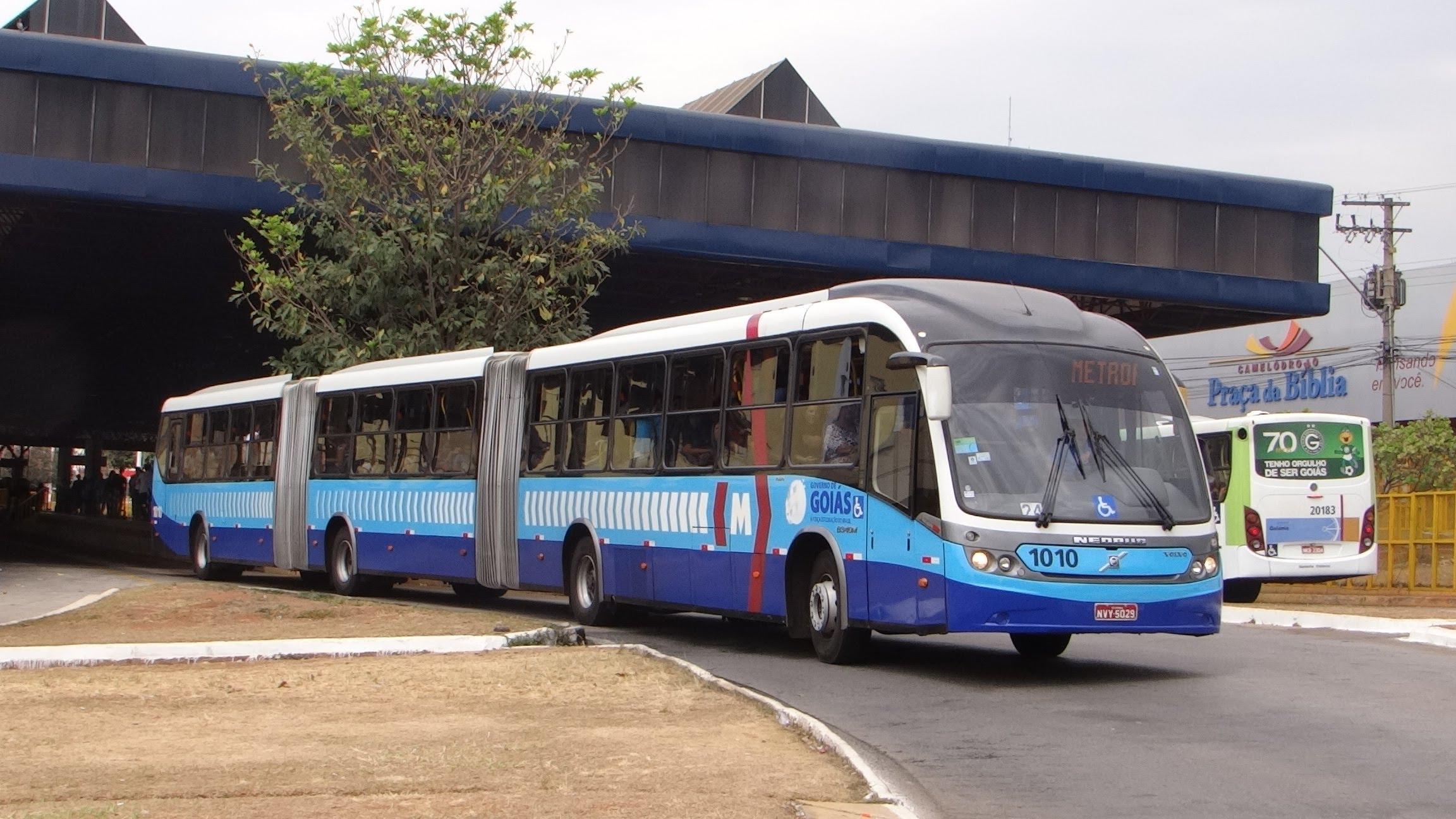 Resultado de imagem para metrobus goiania
