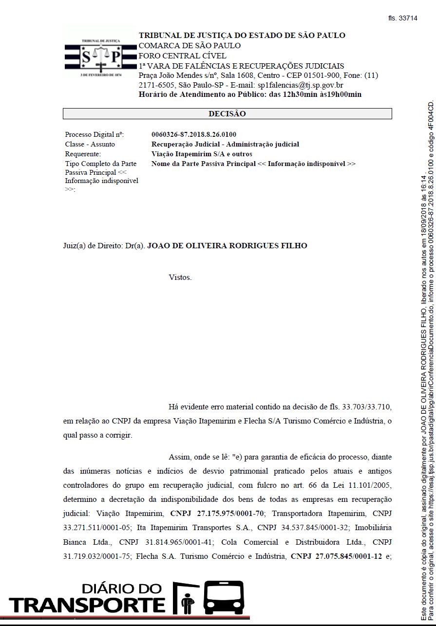 c4e4c6505 Justiça bloqueia bens da Viação Itapemirim e proíbe companhia de ...