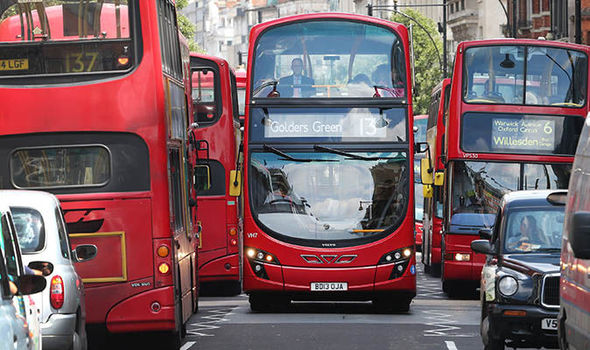 Diesel-buses-London