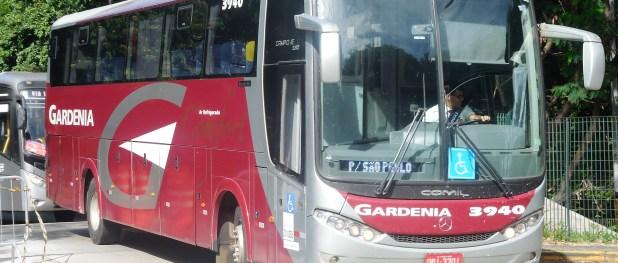 Ônibus da Gardênia, uma das empresas que teve autorizado o pedido de criação de linhas. Foto: Adamo Bazani (Diário do Transporte)/Clique para ampliar