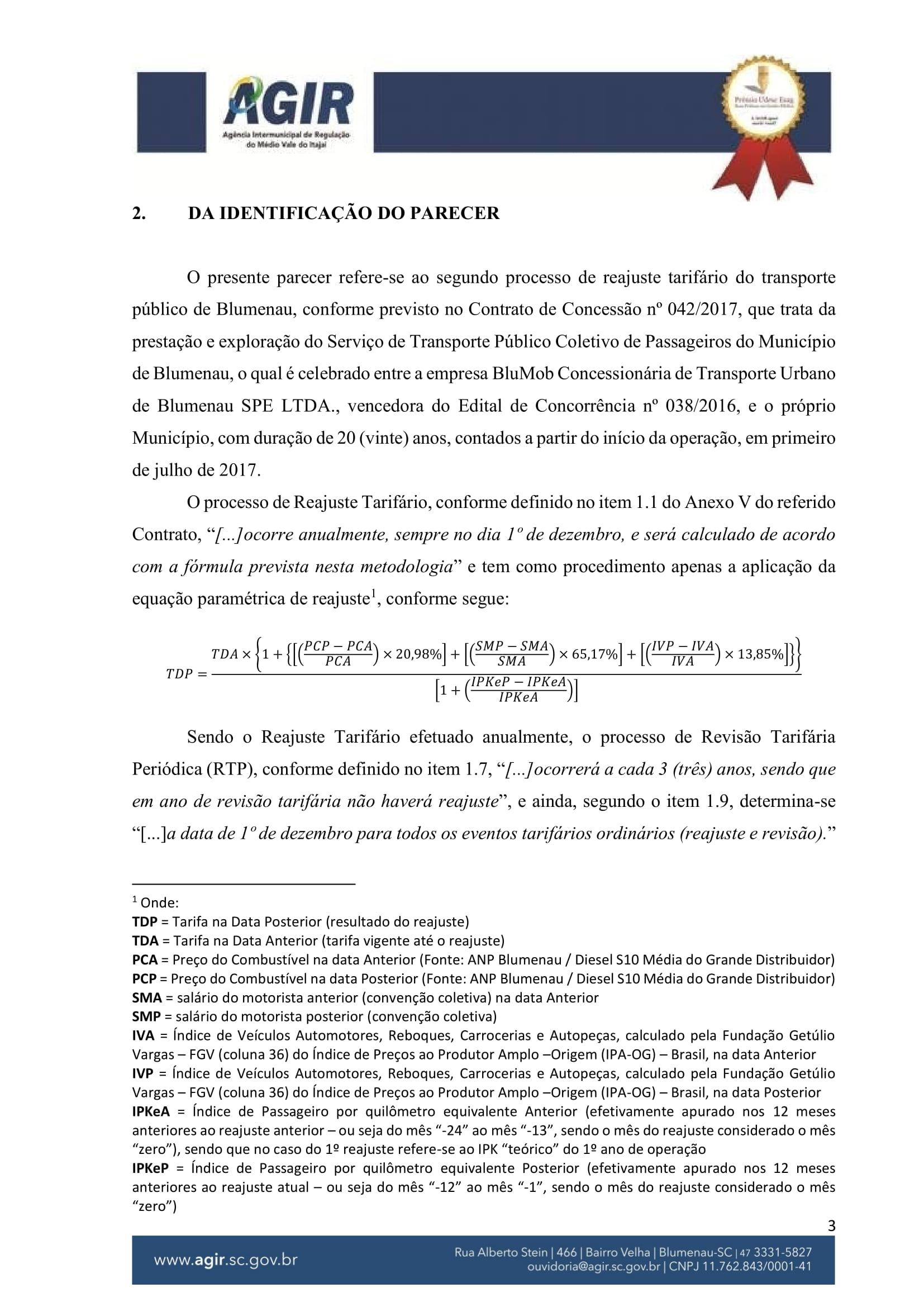 Parecer Administrativo nº 70-2018-03
