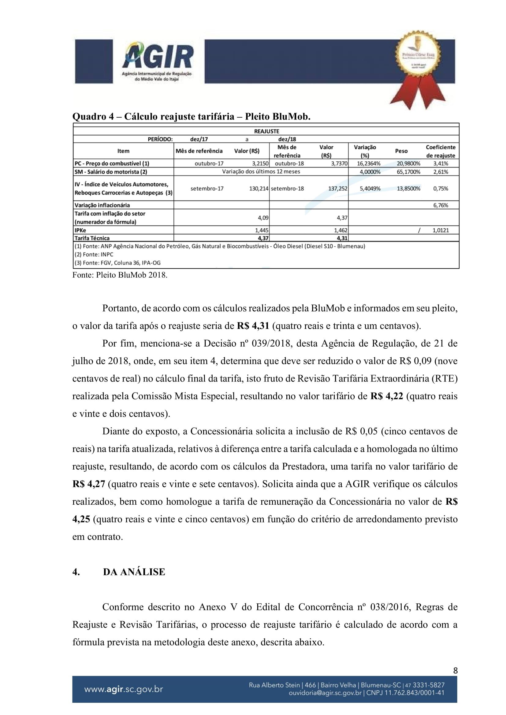 Parecer Administrativo nº 70-2018-08