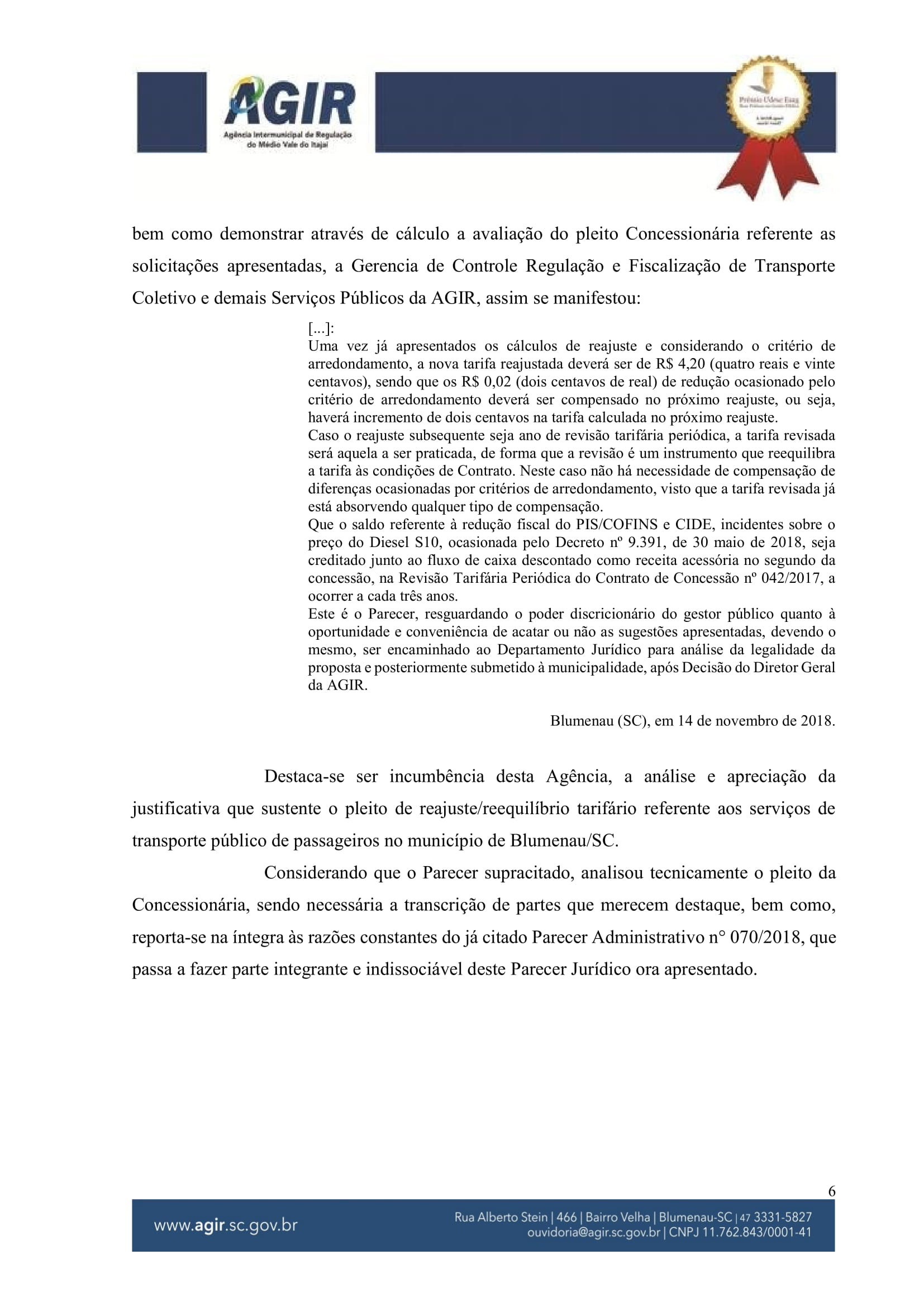 Parecer Juridico 131-2018_Reajuste Tarifário Blumob-06