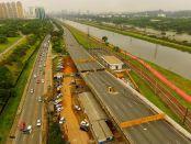 Foram definidas três ações para melhorar o fluxo de veículos nos arredores da CEAGESP. Foto: TV Band.