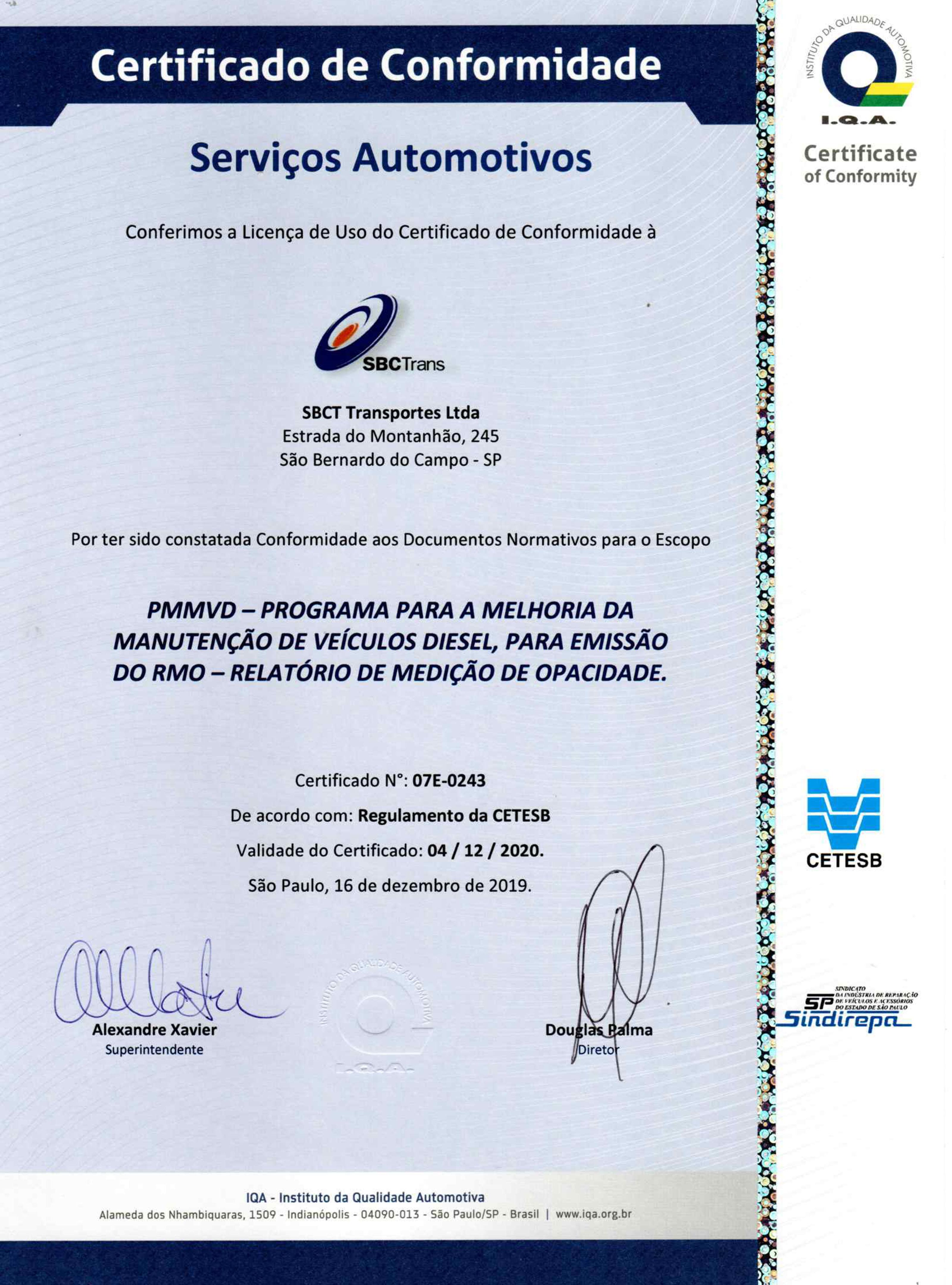 2912020 Certificado PMMVD Cetesb