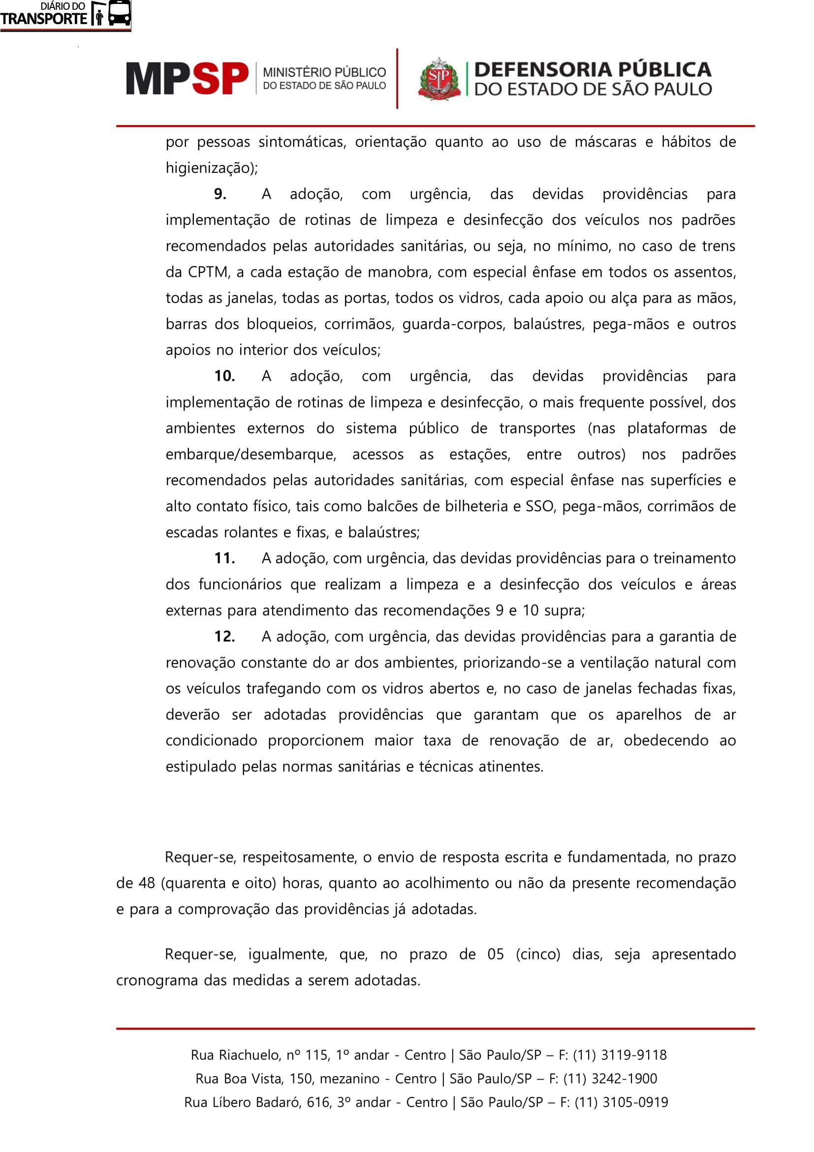 recomendação transporte_CPTM-11