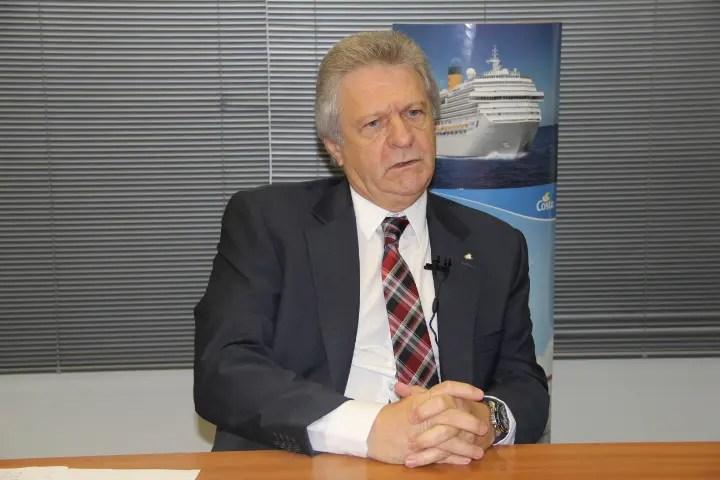 Renê Hermann, da Costa Cruzeiros: