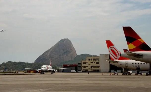 Infraero conclui fase de obras no pátio do Aeroporto Santos Dumont